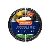 ЛЕСКА ДЛЯ ТРИММЕРА PATRIOT Profline D 3,0 мм L 15 м