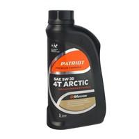 Масло 4х-тактное полусинтетическое PATRIOT G-MOTION 5W30 ARCTIC